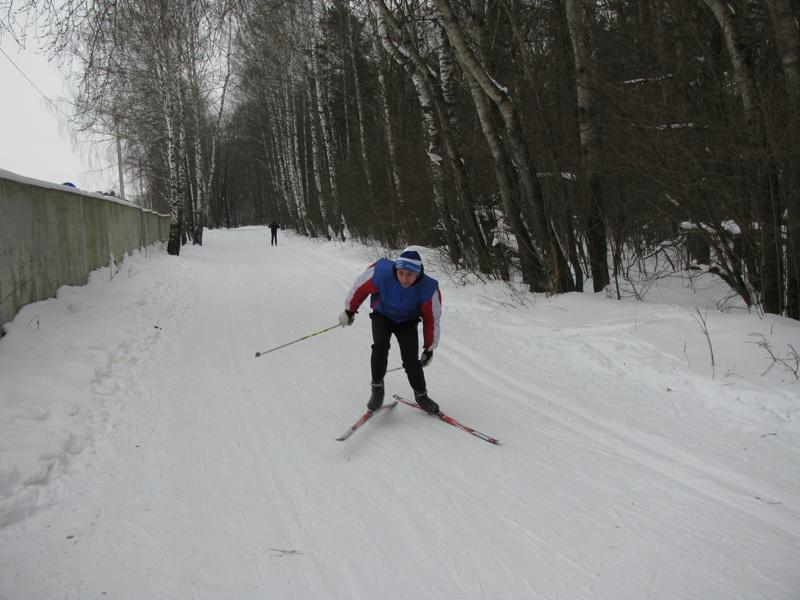 Первенство по лыжным гонкам