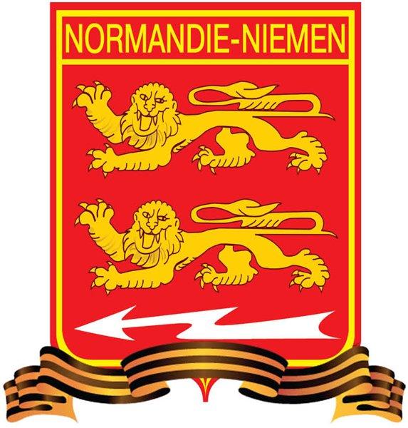 Эмблема авиаполка Нормандия-Неман