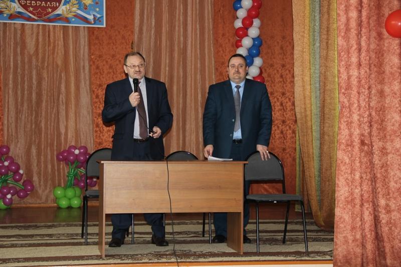 Встреча нового директора Ю. И. Горькова с коллективом техникума