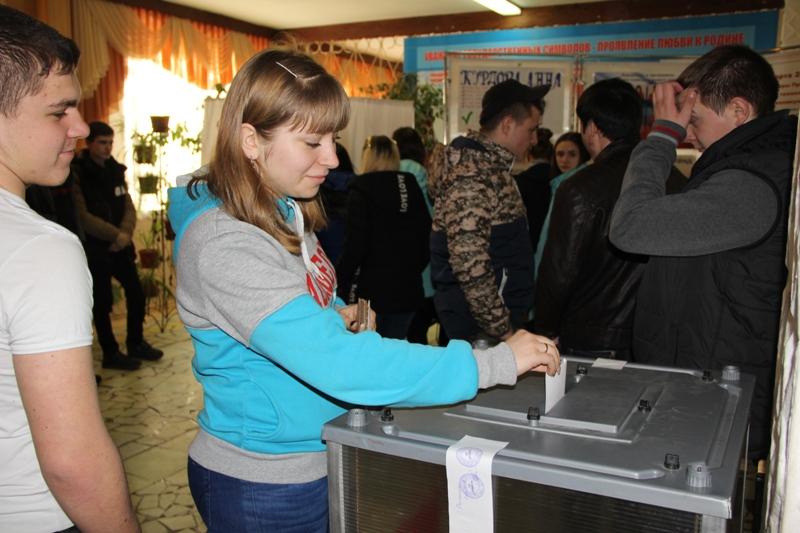 Выборы президента техникума 2017