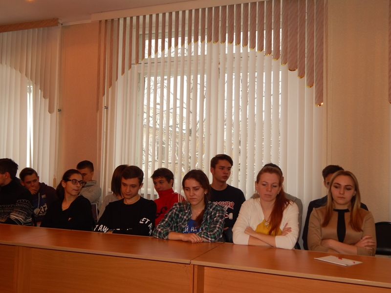 Встреча директора техникума со Студенческим активом
