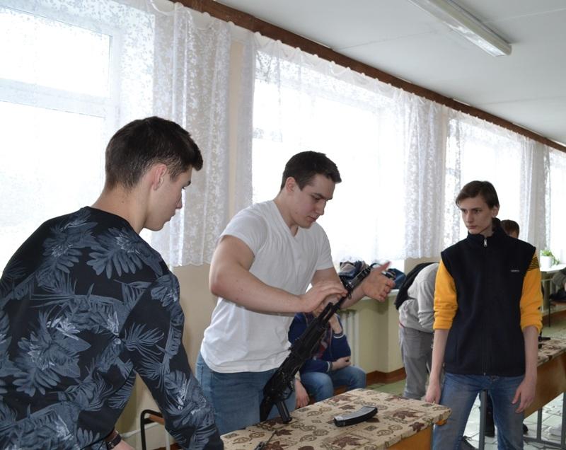 Конкурс разборки-сборки АК-74
