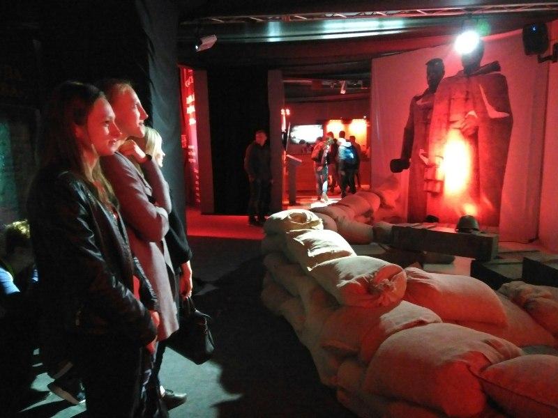 Посещение выставки «Война и мифы»
