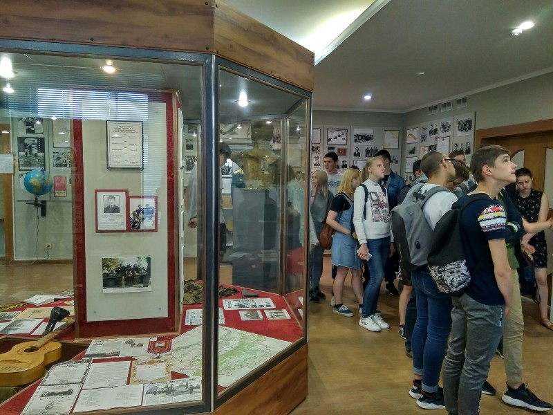 Посещение военно-исторического музея